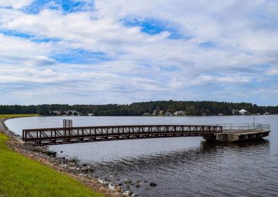 Big Bay Lake Dam Reconstruction