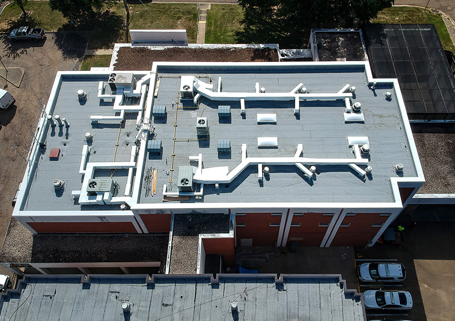 Lincoln County Jail Roof Repair