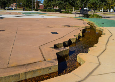 Pearl River Interpretive Plaza