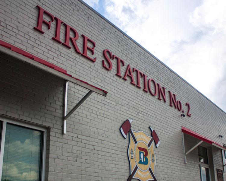 Brookhaven Fire Station No. 2 Logo
