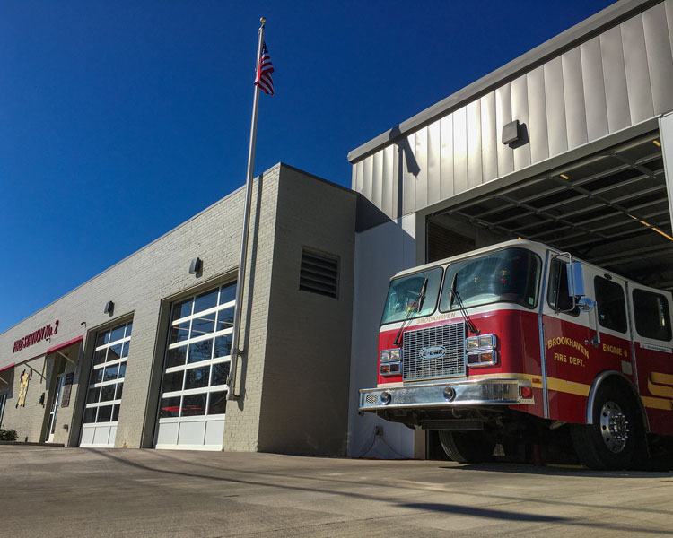 Brookhaven Fire Station No. 2 During the Day